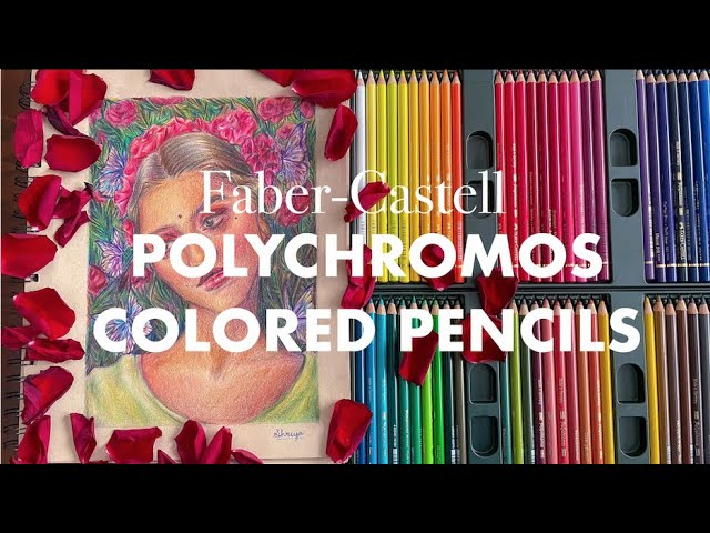 [VIDEO] ✏️ trying polychromos colored pencils!   Are they better than Prismacolor?