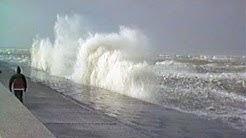 Winter auf Baltrum 1983/84 - Sturmflut