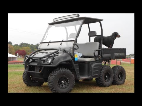"2015 Polaris Ranger >> 2003 Polaris Ranger 6x6 ""Painted Dash and Hood Install"