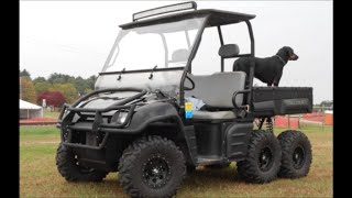 "2003 Polaris Ranger 6x6 ""painted Dash And Hood Install"""