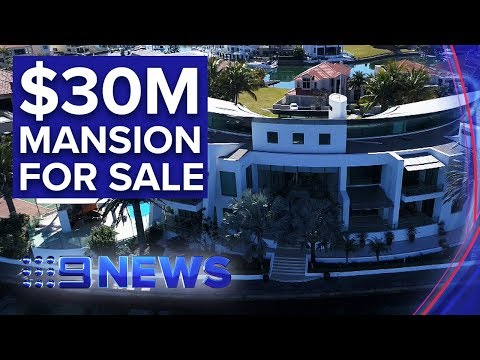 Luxurious Gold Coast Mansion Hits The Market For $30 Million | Nine News Australia