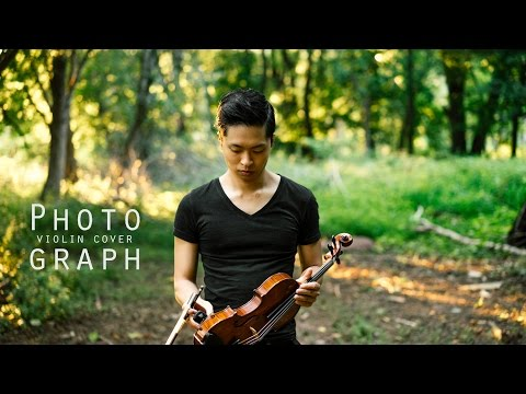 Photograph - Ed Sheeran - Violin Cover - Daniel Jang