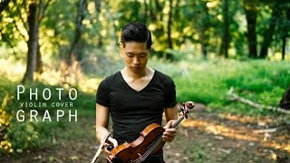 Photograph - Ed Sheeran - Violin cover - Daniel Jang thumbnail