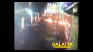 Attack on Sathyam Cinemas before Kaththi Release - Exclusive Video   Galatta Tamil