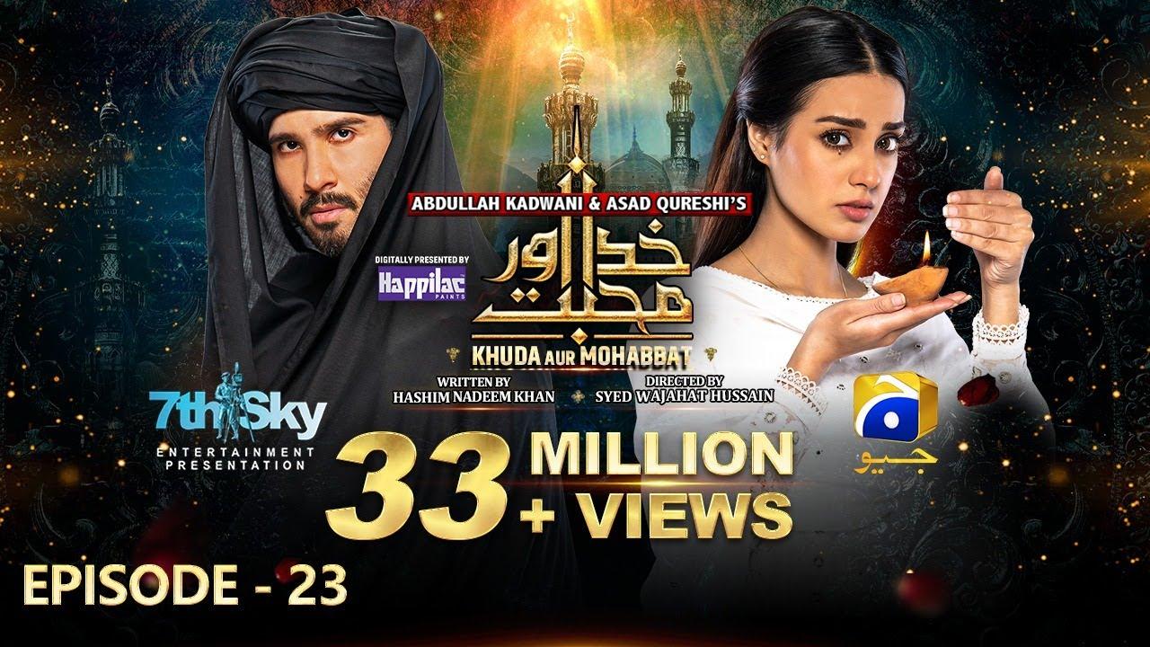 Download Khuda Aur Mohabbat - Season 3 Ep 23 [Eng Sub] - Digitally Presented by Happilac Paints - 16th Jul 21