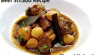 Greek Stifado Recipe - Traditional Greek Beef Stew By Theo Michaels (stifatho)