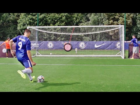 Fußball Trick Shots mit Chelsea F.C. | Dude Perfect