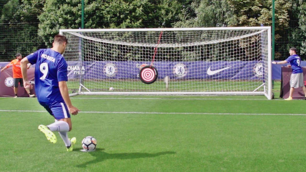 soccer trick shots 2 ft chelsea f c dude perfect youtube