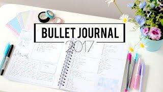 bullet journal planner setup 2017 plan with me january semiskimmedmin