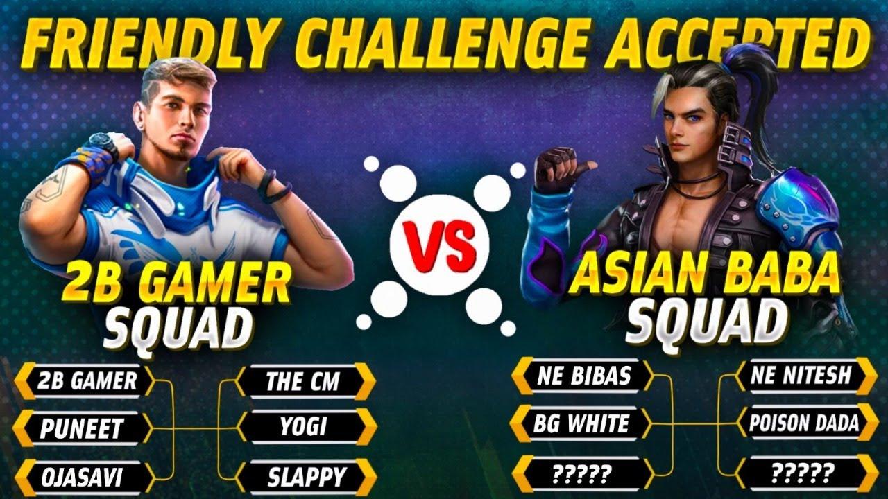 Freefire Clash Squad | Titanium vs Nepal esports | 2b squad vs Asian Baba squad 1 v1 battle