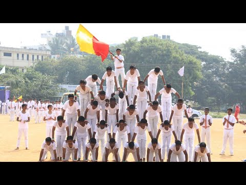 St. Thomas high school Basaveshwarnagar - Snap series of Annual Sports meet 2018-19