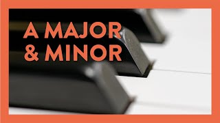 A Major, A Minor & Playing Staccato - Piano Lesson 68 - Hoffman Academy