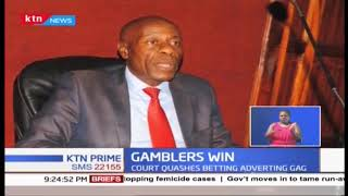 Sigh of relief to betting companies as court quashes outdoor advertisement ban