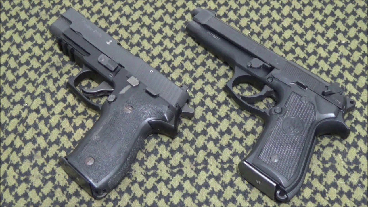 Sig Sauer P226 VS Beretta 92FS