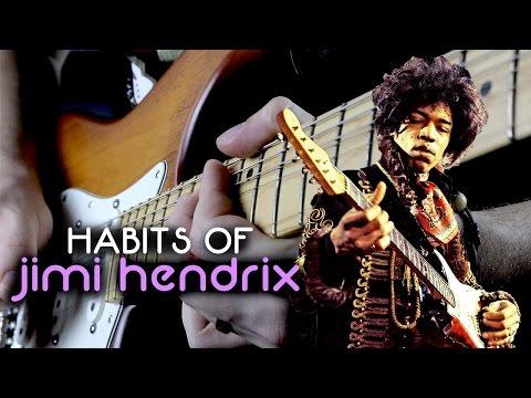 Habits of Jimi Hendrix