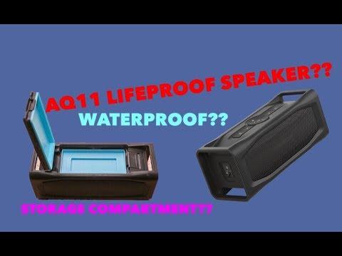 best sneakers 7eca5 0d39e Lifeproof AQ11 Speaker Unboxing [WATERPROOF SPEAKER]