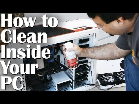 How to Clean Inside Your PC