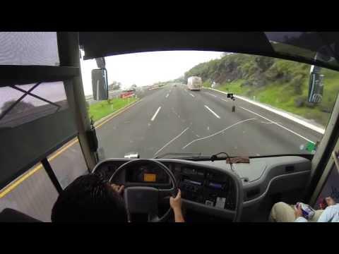 Conducción de Bus Volvo 9700