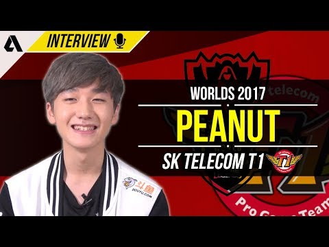 SKT Peanut on his personal performance, stay in Wuhan & Chinese SoloQ | Worlds 2017 Interview