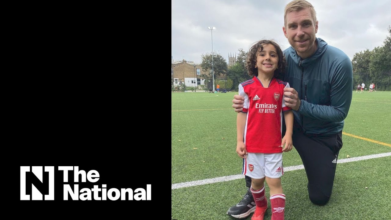 Download Four-year-old footballer scouted by Arsenal