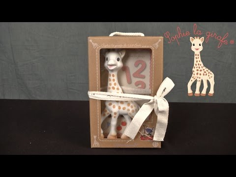 Sophie The Giraffe Toy And 1,2,3 Book From Vulli