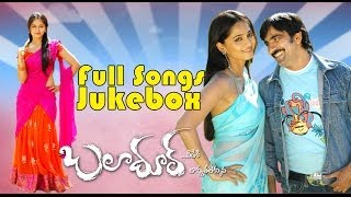 Baladhoor (బలాదూర్) Movie ~ Full Songs jukebox ~ Ravi Teja, Anushka
