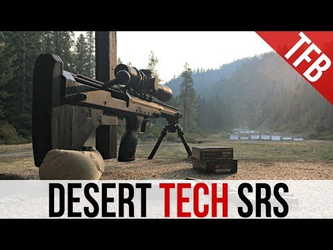 The Desert Tech SRS Review (Stealth Recon Scout)
