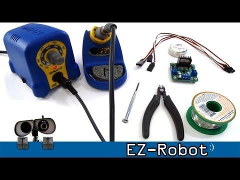 Connect L298N Motor Driver HBridge to EZ-B Robot Controller