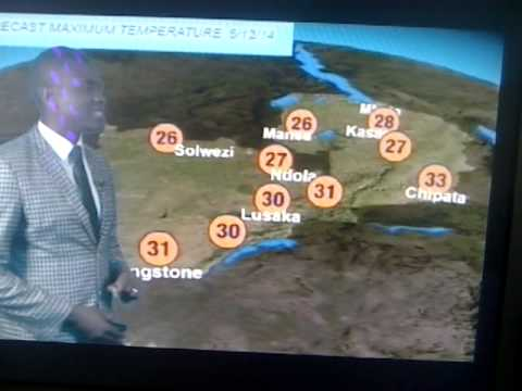 Hanzala Jack Mwaaba on the Zambia Weather Forecast