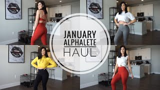 Alphalete Try-On Haul: January Launch | Top Picks