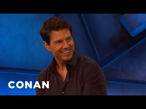 "Tom Cruise: ""Top Gun: Maverick"" Is A Love Letter To Aviation - CONAN on TBS"