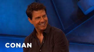 Tom Cruise: 'Top Gun: Maverick' Is A Love Letter To Aviation - CONAN on TBS