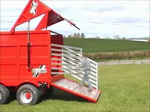 Silage Trailer Cattle trailer Grain Trailer Silage Trailer Cattle trailer Grain Trailer Eurospec