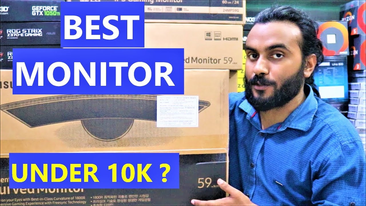 Samsung 24 Inch Curved Monitor | Best Full HD Monitor Under 10K