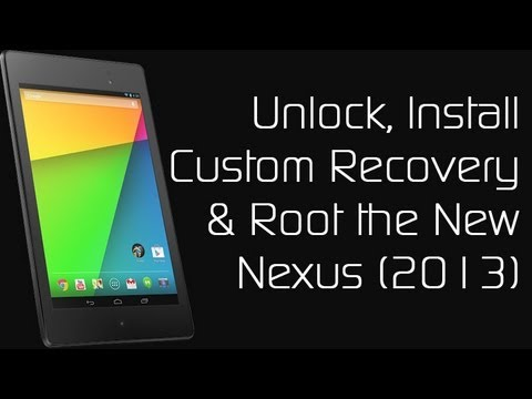 How to Root the New Nexus 7 (2013)