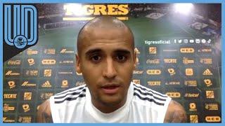 El futbolista de Tigres acepta que el conjunto felino comienza a retomar su mejor nivel de juego y quieren escalar lugares en la clasificación del torneo Guardianes 2020