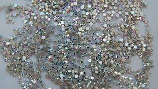 Маникюр. Дизайн для ногтей. Камни (Aliexpress)