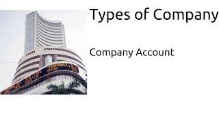 Types of Company | Company Account | CA CPT | CS & CMA Foundation | Class12