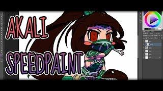 Akali [League of Legends Fan-Art]