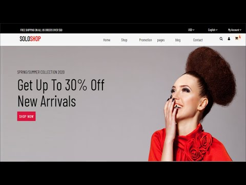 How To Create A Fashion Website Using HTML & CSS