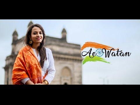 Ae Watan | Female Version | Cover By Juita Patil | Raazi