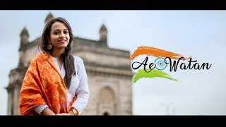 Ae Watan | Female version | cover by Juita Patil | Raazi