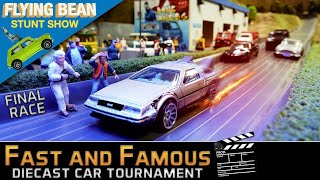 Fast & Famous Car Tournament Finals | Diecast Racing Movie Cars