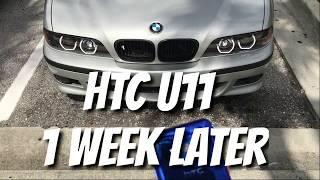 HTC U11 1 week later