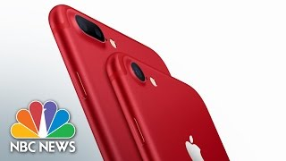 Apple Introduces Red iPhone To Help In Fight Against AIDS | NBC News
