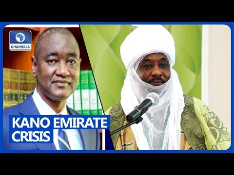 Sanusi's Dethronement, 'Very Brazen And Illegal', Says Deposed Monarch's Lawyer