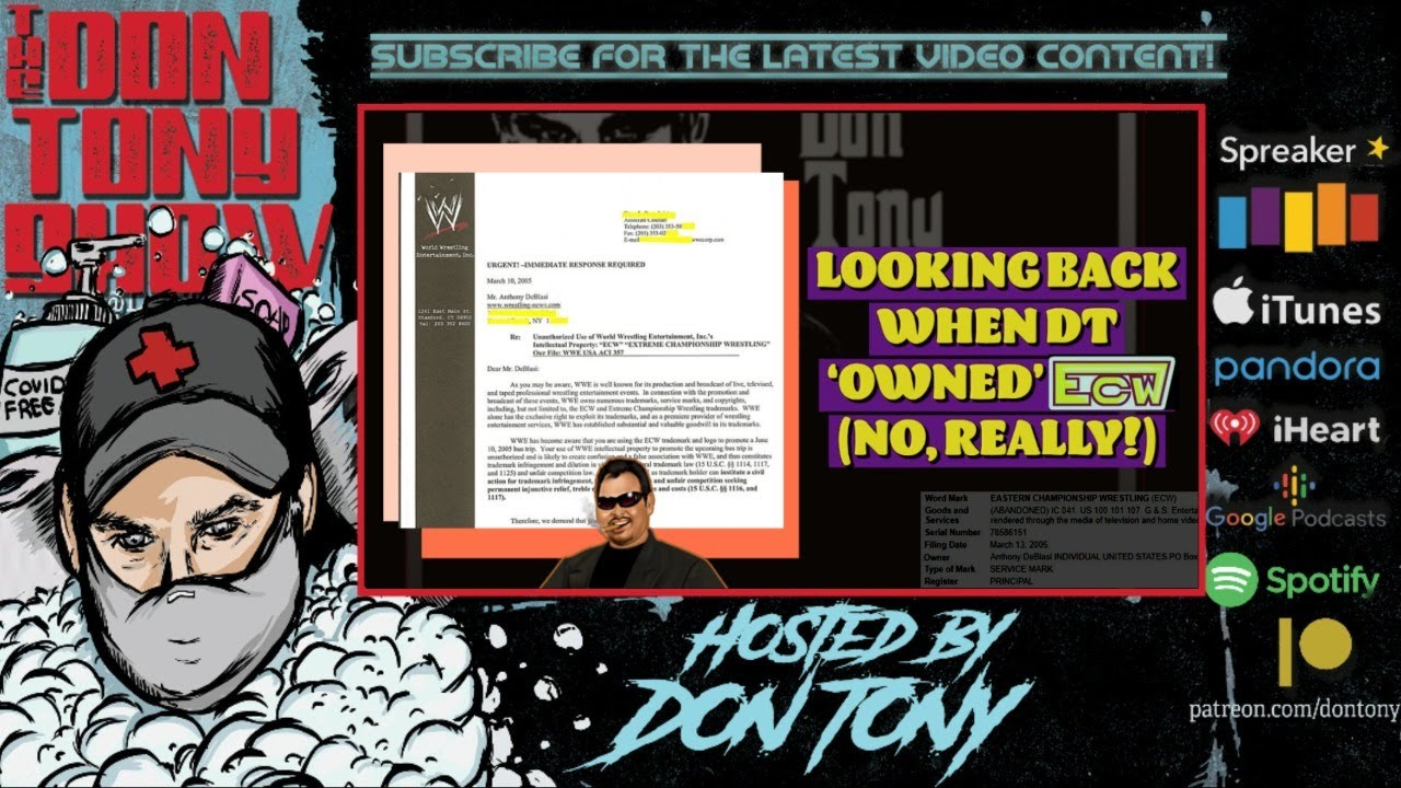 The Don Tony Show 7/3/20 WWE SmackDown; Dissecting AEW / NXT 2020 Ratings; Sting vs Undertaker Tease