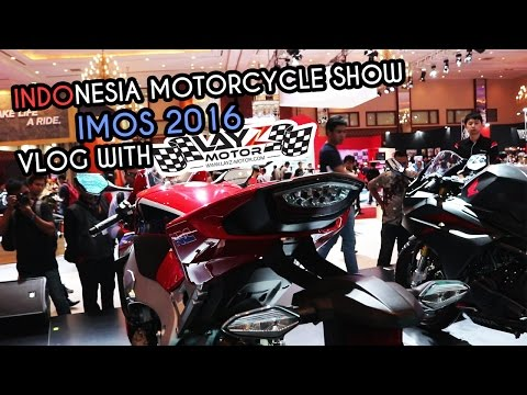 IMOS 2016 (Indonesia Motorcycle Show) Jakarta with Layz Motor, Fauzan, etc | Vlog