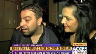 """Florin Salam: """"M-am obisnuit sa tot fiu implicat in scandaluri"""""""