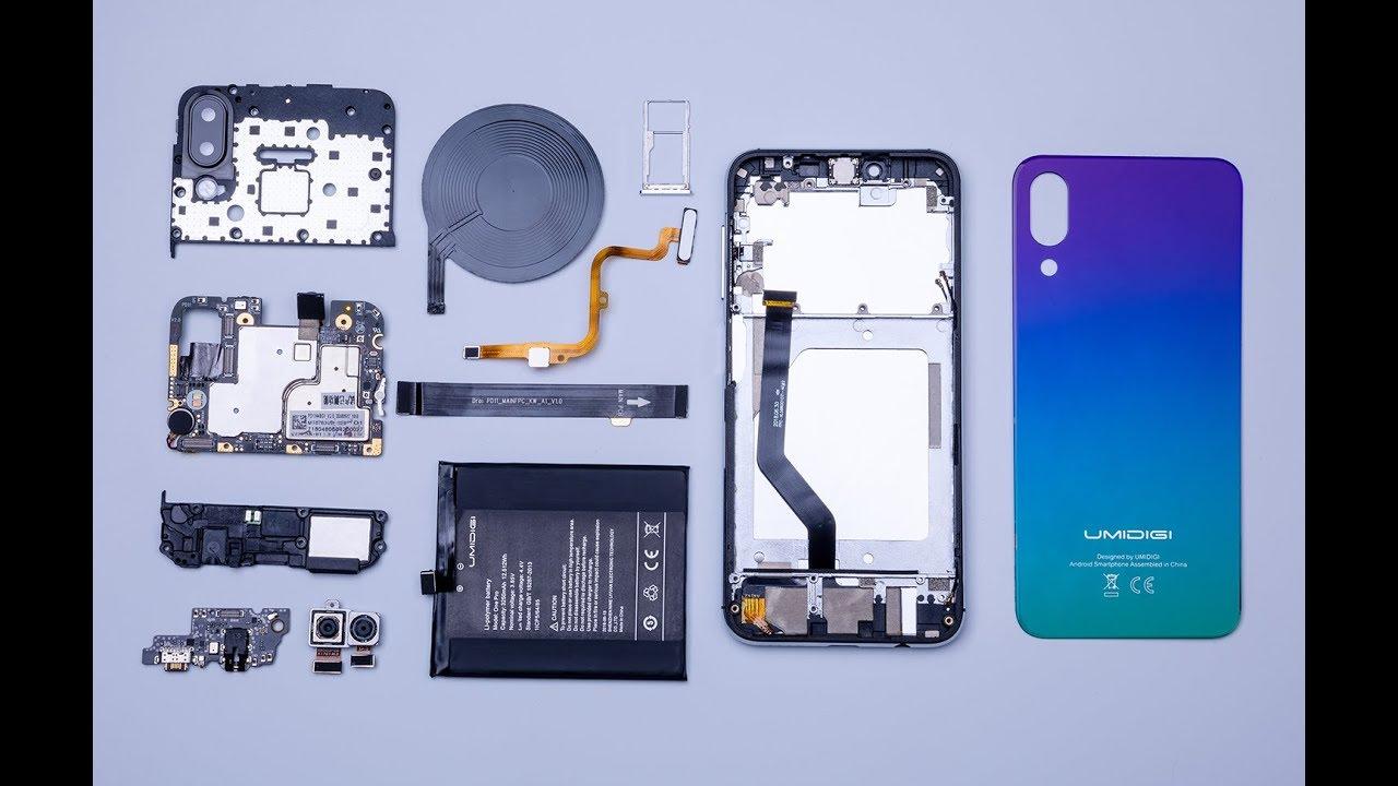 UMIDIGI One Pro Disassembly: True Compact Flagship